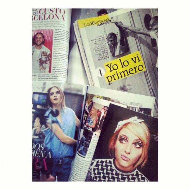 Mi mamá me mima :) Custodalmau Custobarcelona AnnaSophia Davidbowie queendelevingne caradelevingne glamour glamourspain glamourmagazine grazia graziaspain graziamagazine ???
