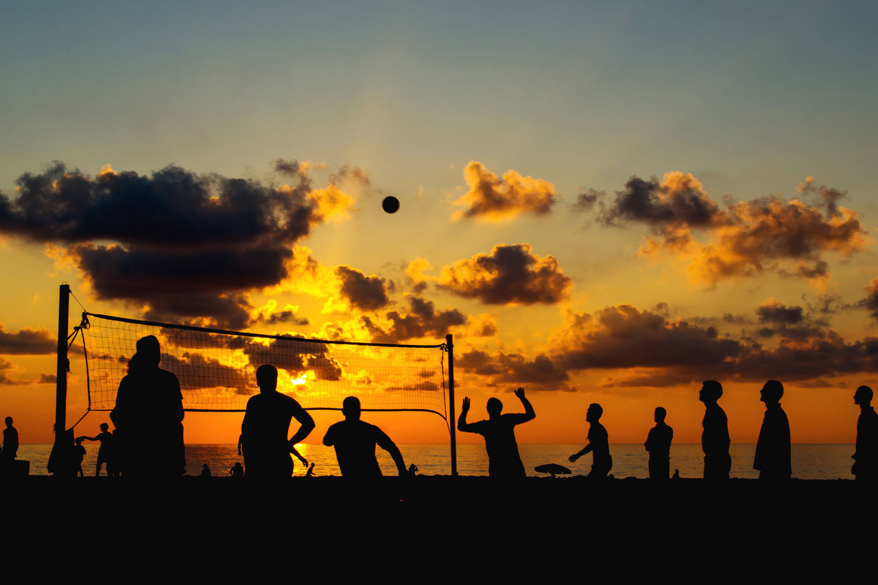 Beautiful stock photos of strand, Beach, Beach Volleyball, Beauty In Nature, Challenge