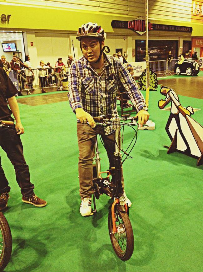 Power bike ride Bicycle Cycling Self Portrait That's Me
