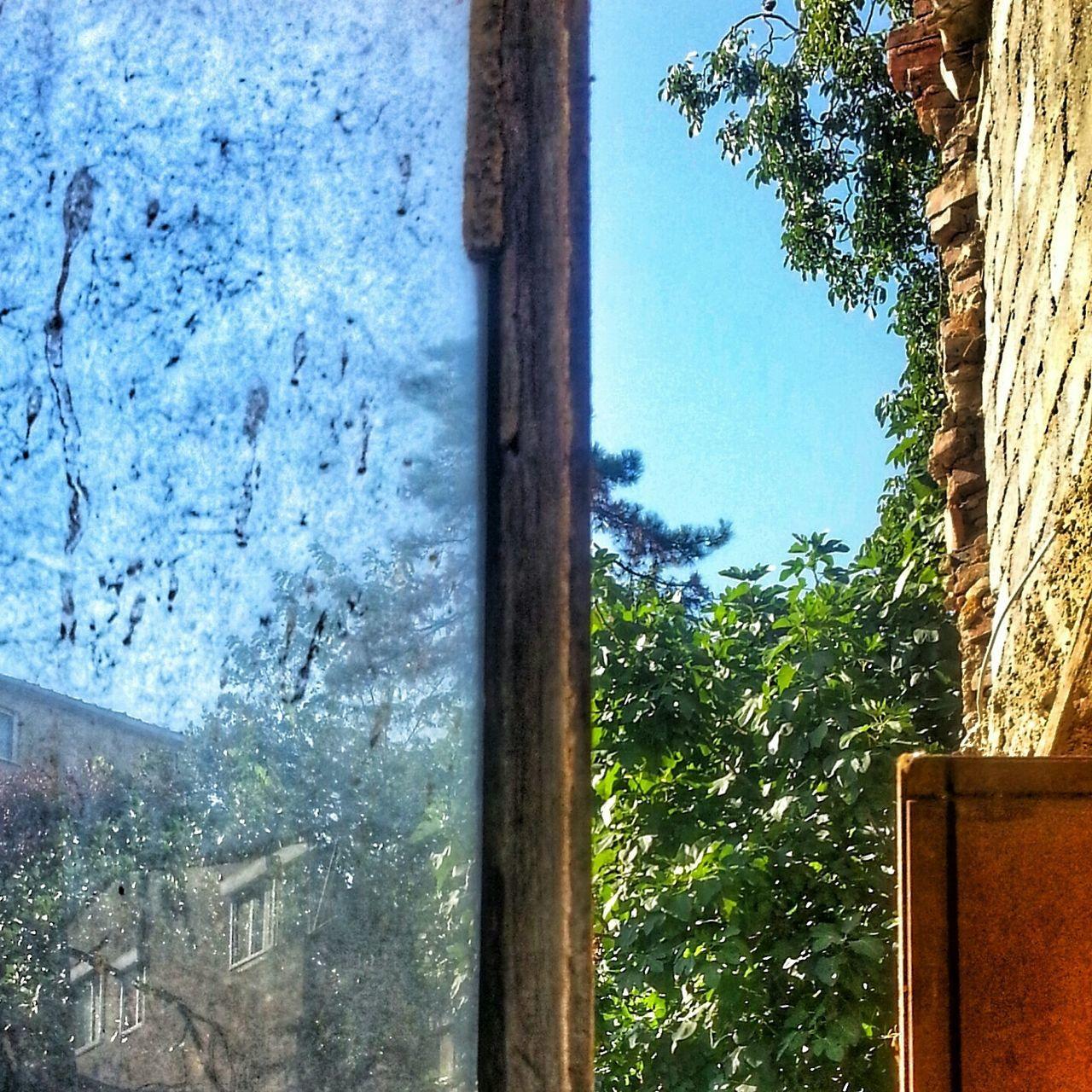 Pencere Gokyuzu Kirli Temiz Window Sky Dirty Window Lifeisbeautiful