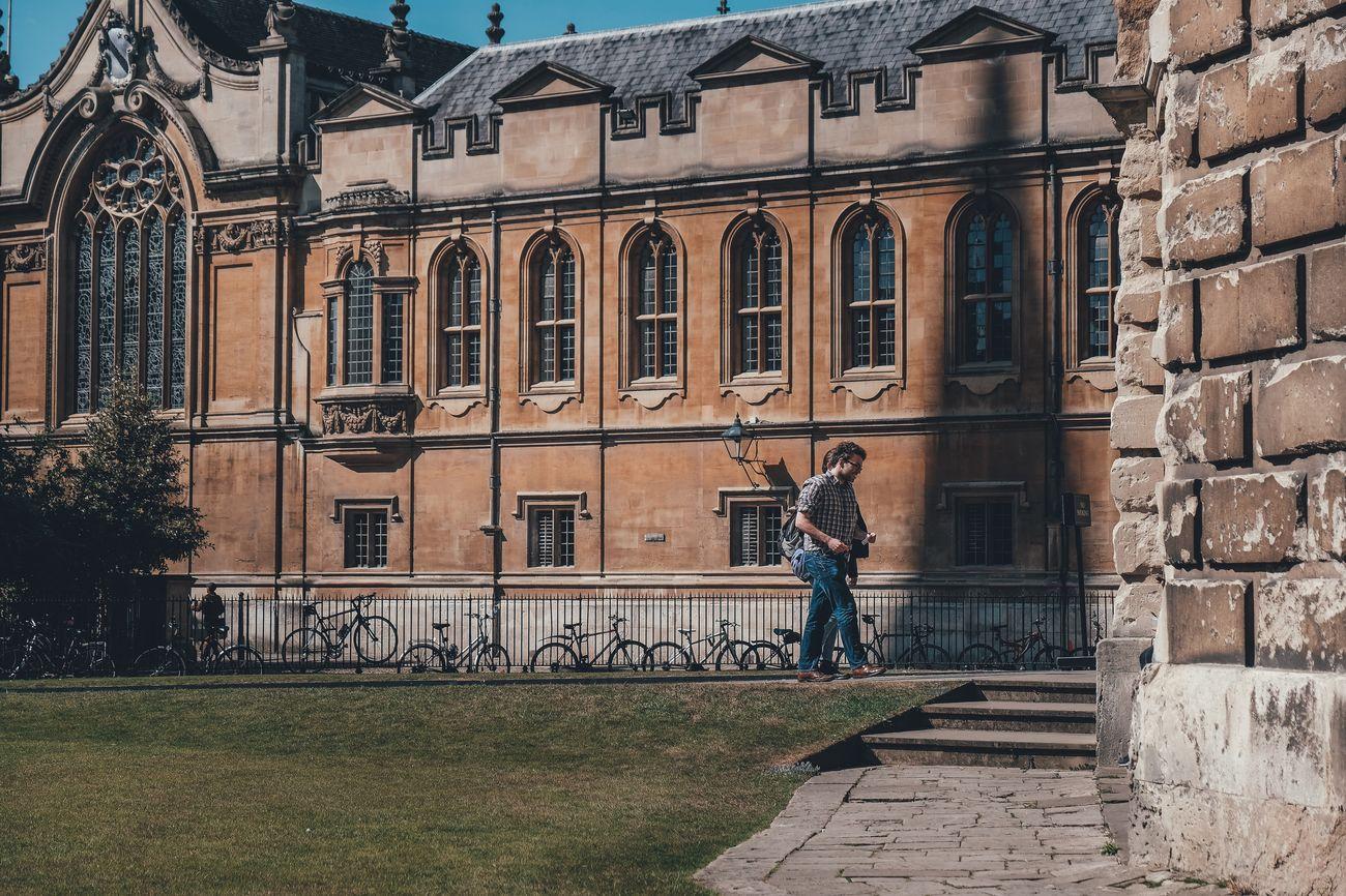 Oxford The Street Photographer - 2017 EyeEm Awards Architecture Streetphotography Street Photography City Building Exterior Outdoors Full Length Walking Lifestyles