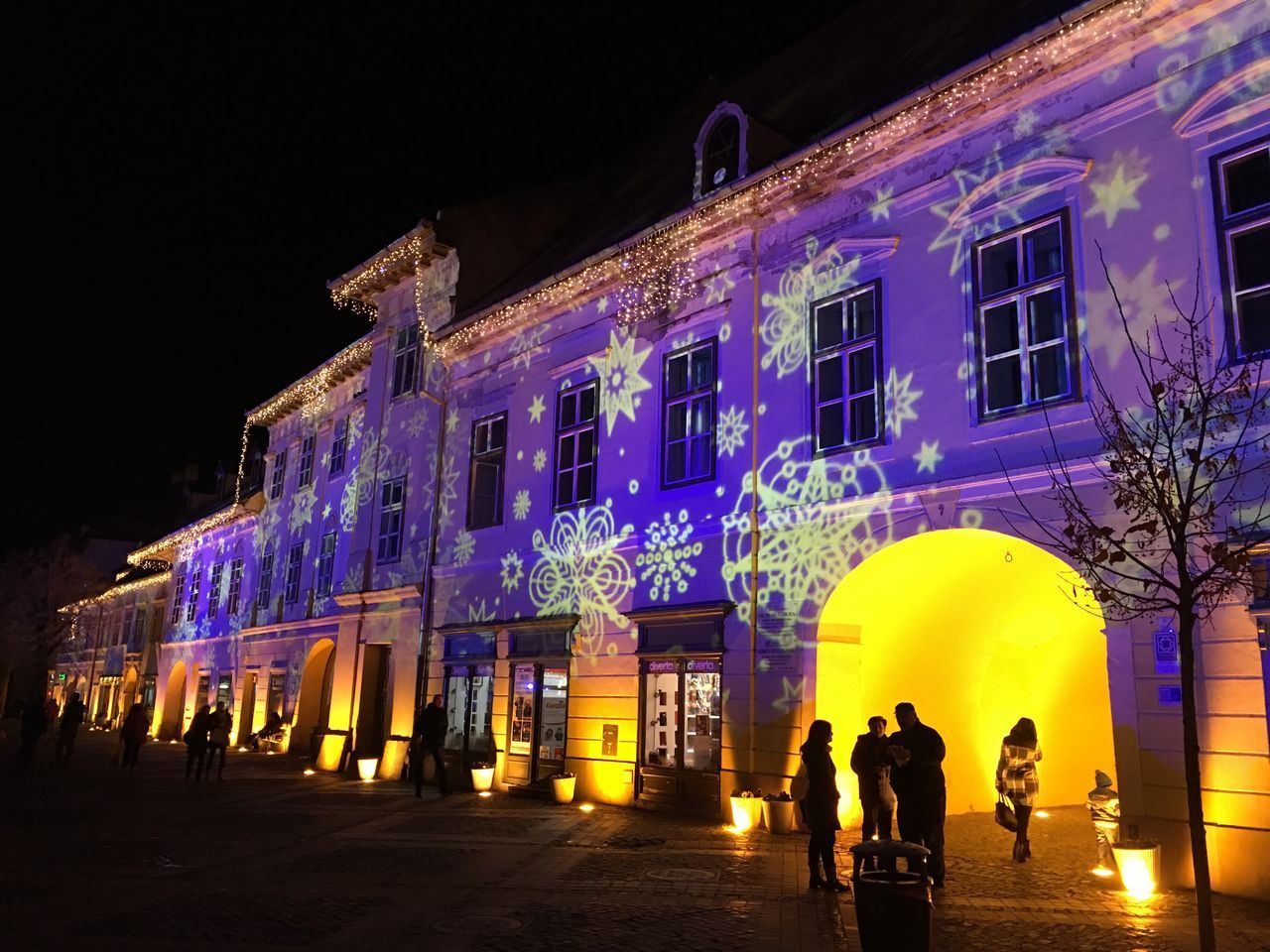 Adapted To The City Architecture Night Building Exterior Real People Built Structure City Illuminated Leisure Activity Outdoors Men