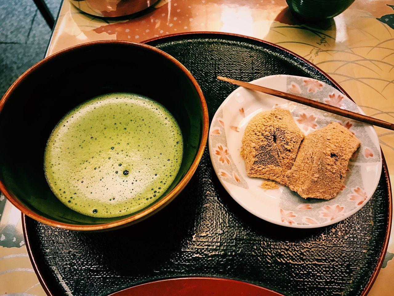 Sweet time in Kyoto Drink Healthy Eating Table Tea Ceremony Food Tea Tea Time 京都 日本 抹茶 Kyoto Japan