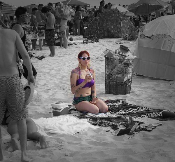 Edit for W New York Photographer Photography Ameteur Photography New York City Summertime Beach Time Beach Day Beachlife Beach Beachphotography Girlswhosmokeweed Girls Girlswithtattoos Juice