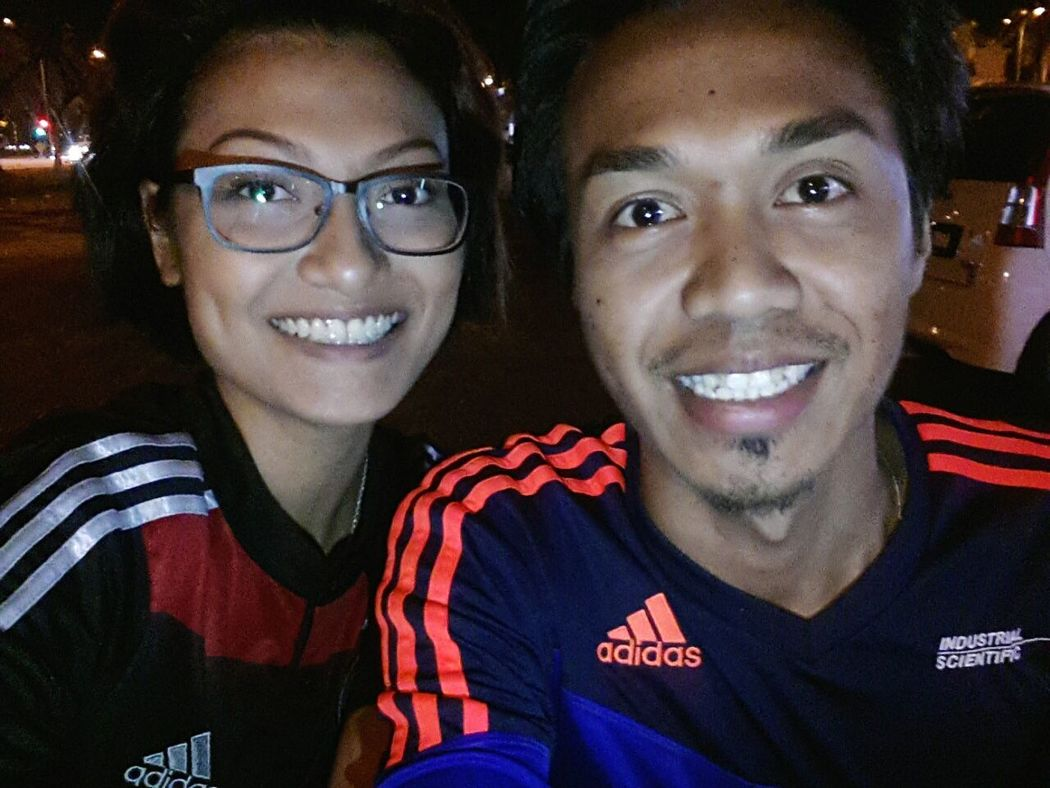 its been a while since we last met... ♥♥♥ Joey Meets Starla Our Food Adventures Adidas Just Chilling Le Munchkin Just Us Jalan Jalan Cari Makan Under The Stars Colgate Smile