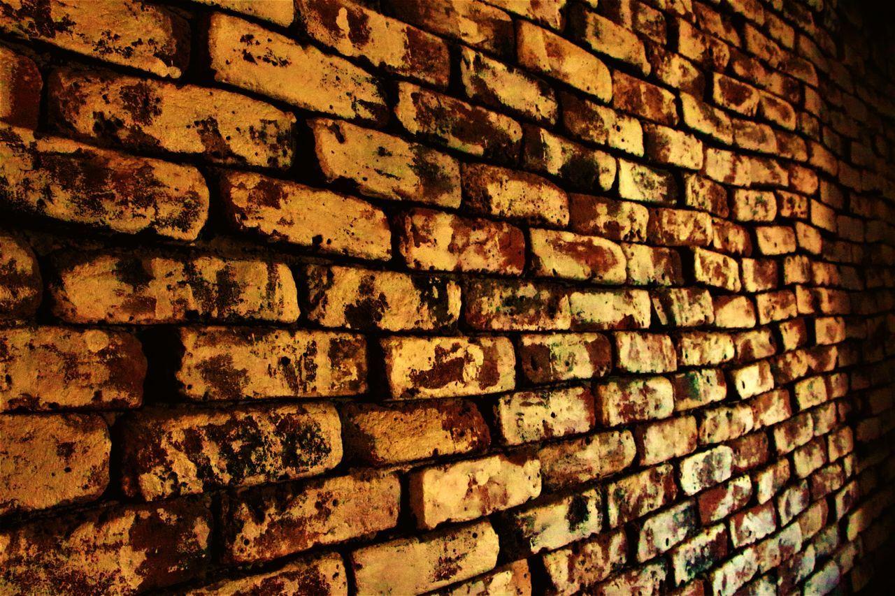 Brick Wall Pattern Backgrounds Textured  Architecture Close-up EyeEmBestPics EyeEm Best Shots EyeEm Gallery EyeEmStone Tile Brick Wall Cobblestone Paving Stone Wall EyeEmNewHere Bricks And Stones Bricks Brick