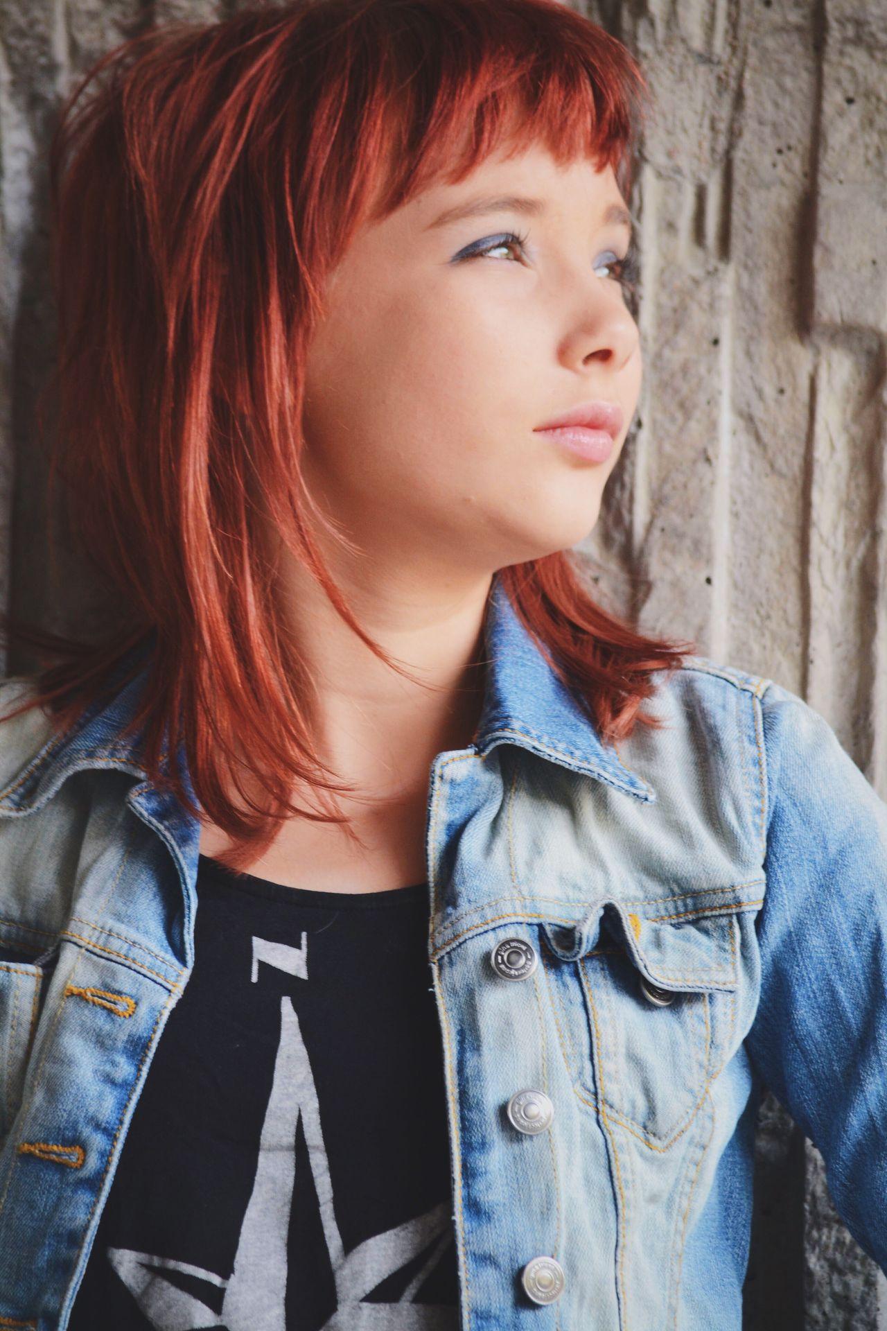 The Portraitist - 2016 EyeEm Awards Portrait Jeans Denim Denim Jacket Girl People