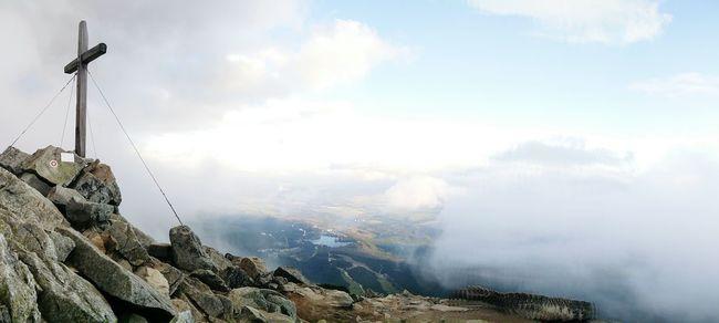 Tatra Mountains Predne Solisko Strbske Pleso Clouds And Sky High Tatras Mount Peak