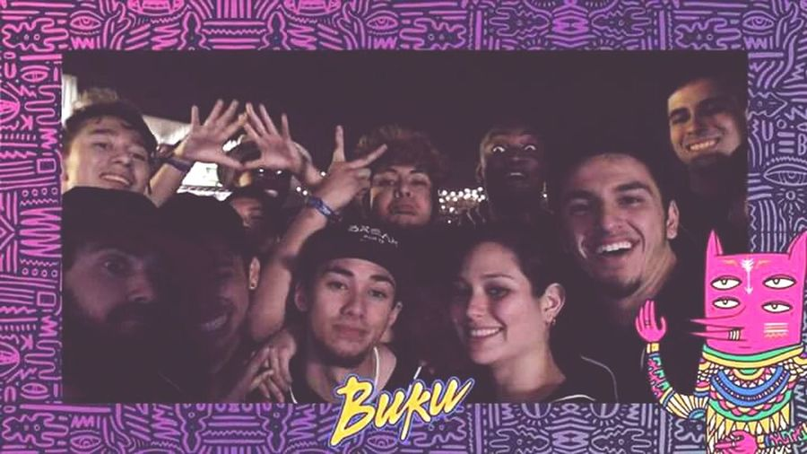 Bukubreakers squad up at Bukufest