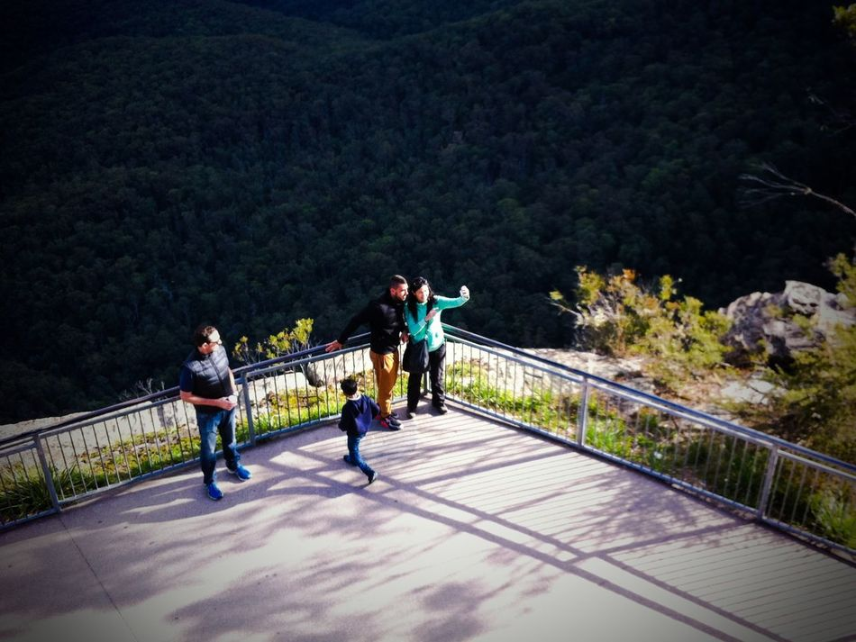Fearlessly taking wefies Australia Bluemountains Casual Clothing Day Fearless Green Color Leisure Activity Nature Notawkward Outdoors Regardlessofpeople Sydney Tree Wefie The Photojournalist - 2016 EyeEm Awards Feel The Journey People Together People And Places