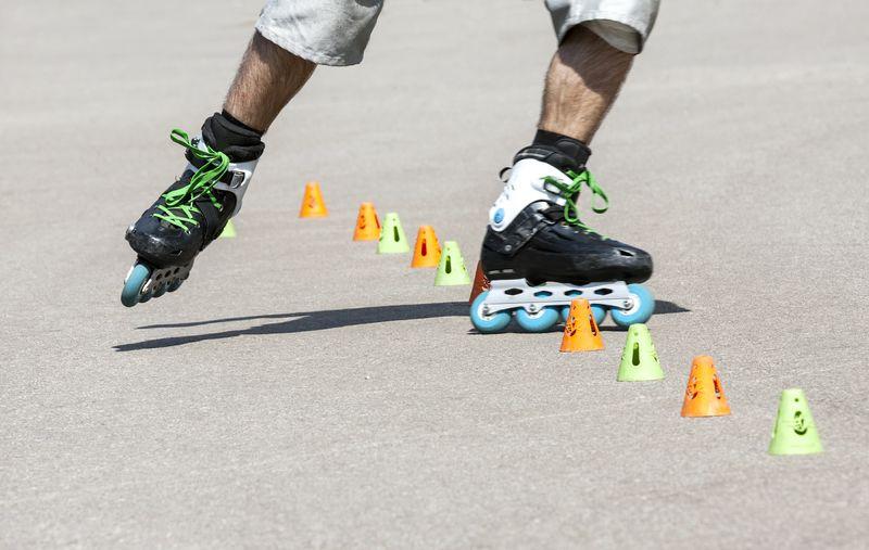 Roller Skate Sport People Outdoors Men One Person Human Leg Day Rollerblading Rollerskate Active Lifestyle Teens Teenager