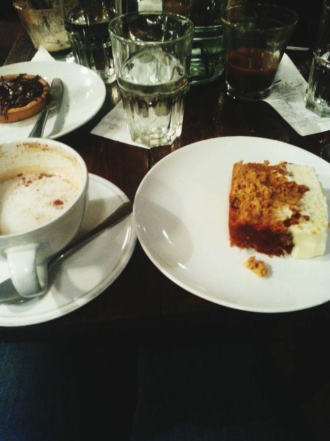 Carrot Cake Cappucino Sundayevening With Bestfriend