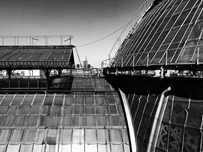 Built Structure Architecture Day Building Exterior Outdoors No People Clear Sky Sky City Milano Highline Galleria Blackandwhite IPhoneography TheWeekOnEyeEM Architecture