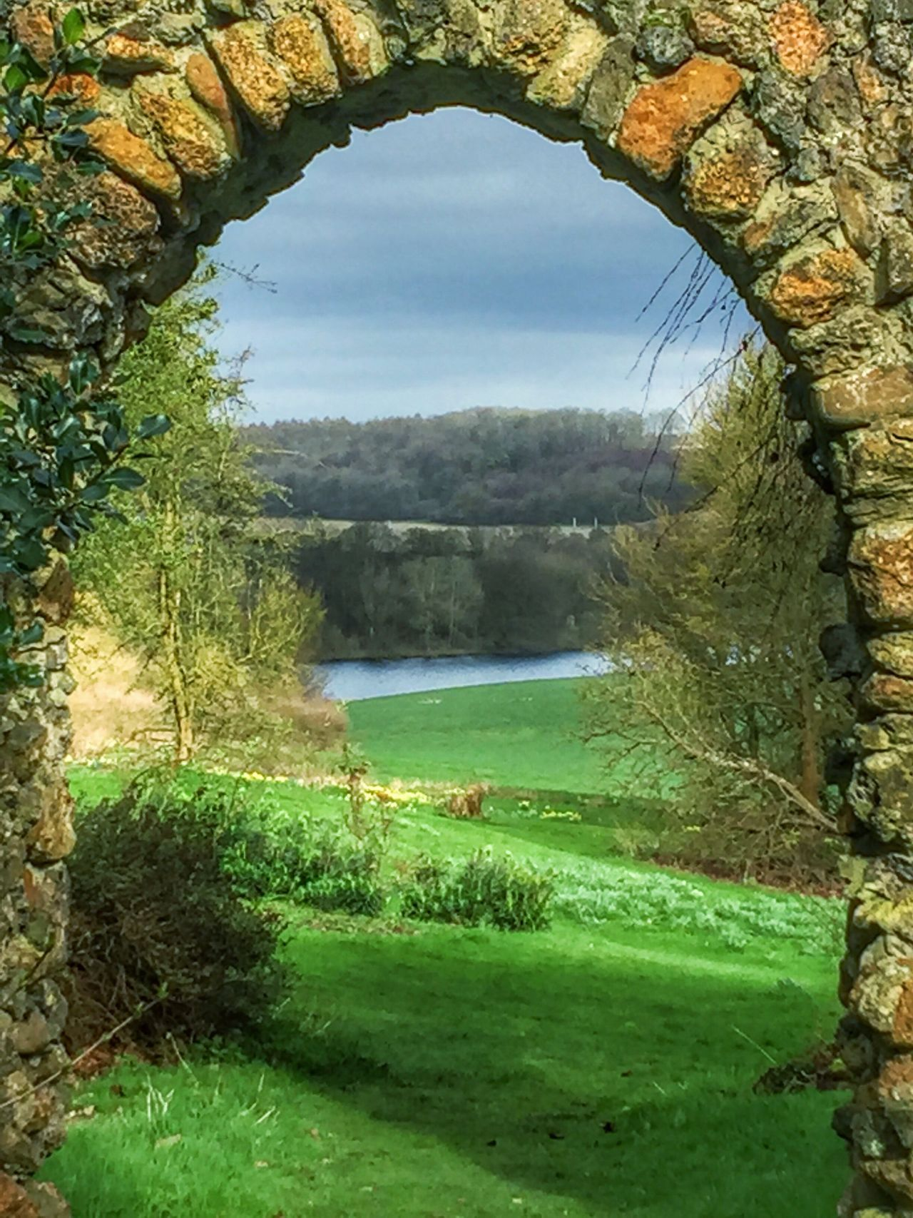 Luton Hoo Nature Countryside Tree Water Beauty In Nature Scenics Tranquil Scene Idyllic Outdoors Landscape View England Britain Spring