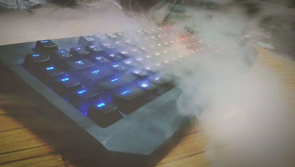 Keyboard Razer Extream Smoke Weed
