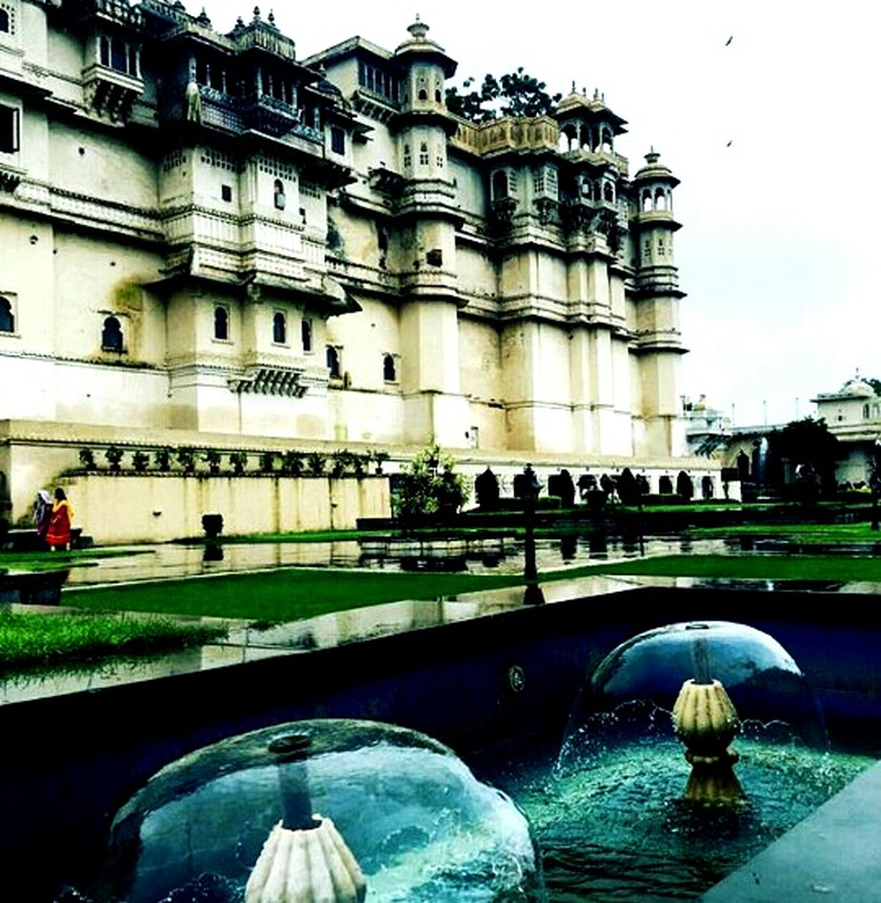 Architecture City Built Structure Travel Destinations Fountain No People ..the City Palace Complex-Rajasthan