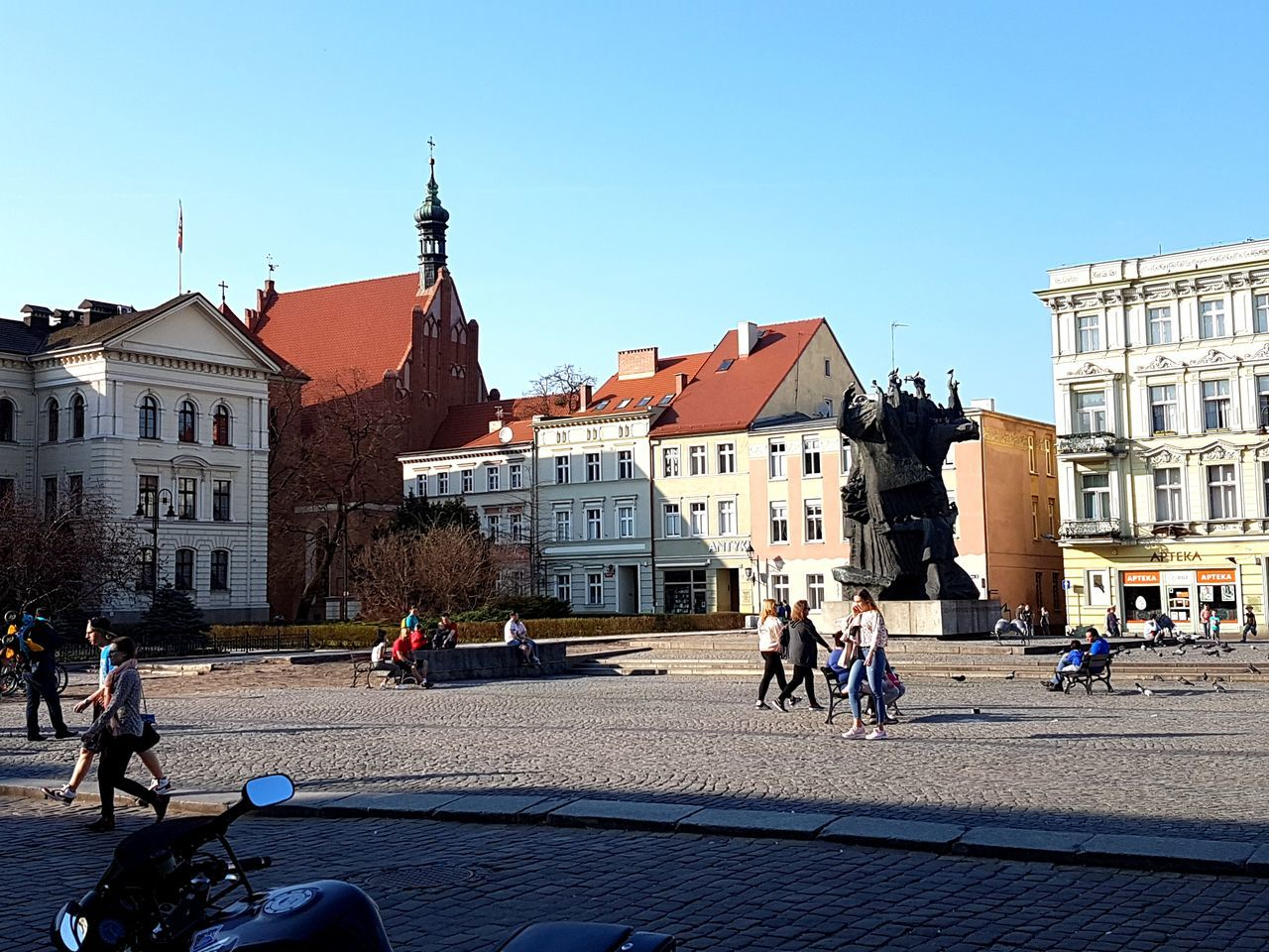 Building Exterior Travel Destinations City Architecture Large Group Of People Vacations People Outdoors Day Poland Bydgoszcz Place Of Worship Christmas Medieval