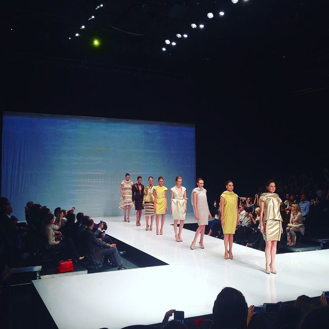 Saint Petersburg Fashion Week Spbfw FW Fashion Corrie Nielsen Disign Dress Runway Catwalk