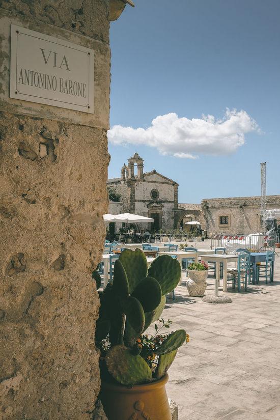Marzamemi, la piazza Architecture Fichi D'india Marzamemi Pescatori Sicily Siracusa Tales Tavoliere Villaggio