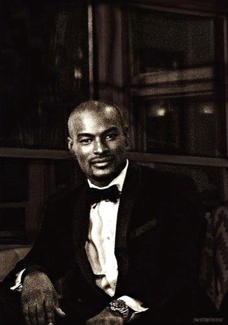 Tyson / NYC Portrait Of A Man  Black And White Clean Confidence  Model Tuxedo Portrait Celebrity Portraiture African American Portrait Of A Man  Top Model Formal Attire Backstage Canonphotography Grainyiscool