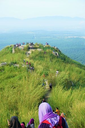 Hiking at Broga Hill Beauty In Nature Broga Broga Hill Day Feel The Journey Grass Grassy Green Color Hiking Landscape Leisure Activity Lifestyles Nature Non-urban Scene Outdoors Plant Relaxation Scenics Sky A Bird's Eye View Tranquil Scene Tranquility People And Places My Year My View Colour Of Life
