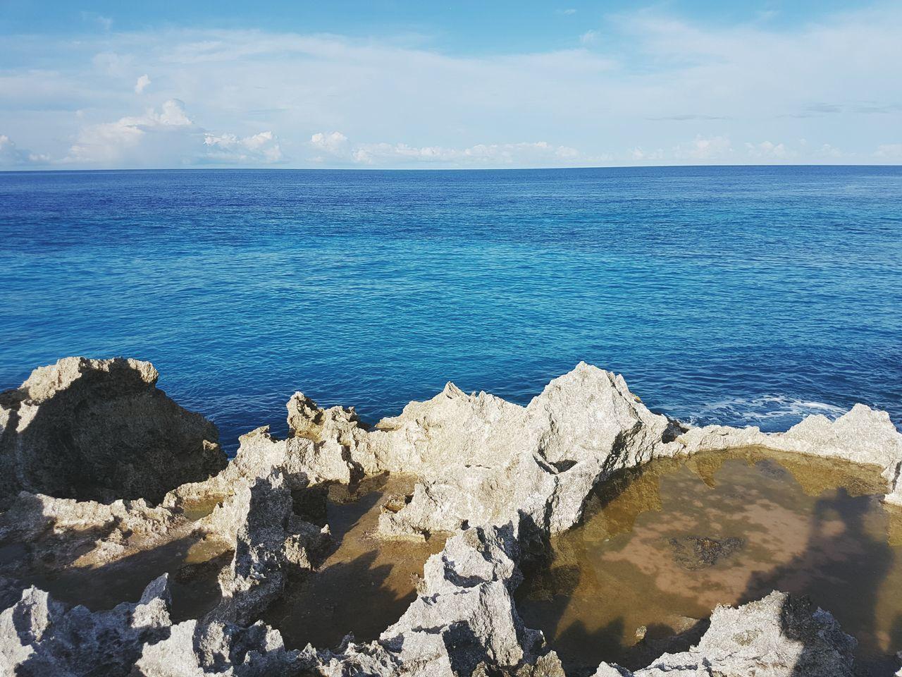 EyeEm Selects Sea Beach Rock - Object Horizon Over Water Scenics Sky Wave Biak Papua Indonesia