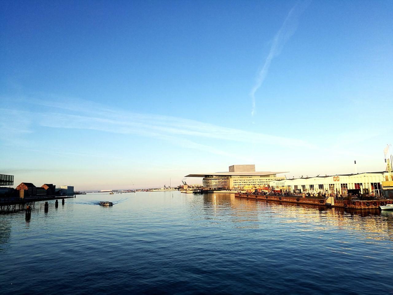 Opera House Copenhagen Winter Sunshine ☀