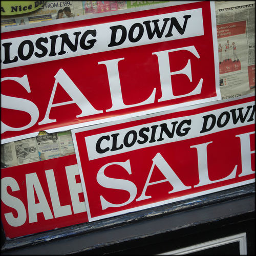 Arrow Symbol Bankruptcy Rears Its Ugly Head Broke Busted Capital Letter Communication Crap Britain Direction Guidance Information Information Sign Non-western Script Number Redundant Road Sign Selling England By The Pound Sign Sign Of The Times. Signboard Symbol Text Warning Sign Western Script