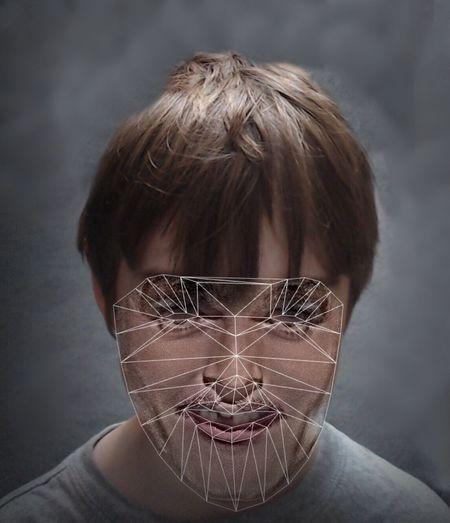 """Facial recognition"" Sydney 27 January 2017 Portrait IPhone 6s+ Pictureshown"