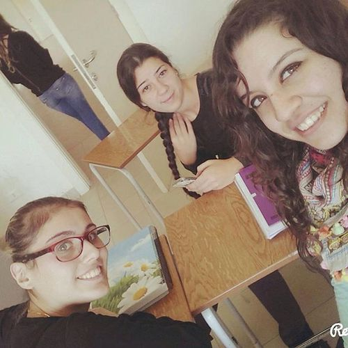 """""""There is nothing on this earth more to be prized than true friendship."""" English_course Taking_selfie Fall_semester_2015 With_my_girls"""