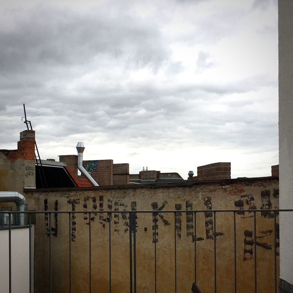 Kill Rooftop Sky Cloudy Afternoon Balcony Roof Terrace Clouds Spring Graffiti Utopia
