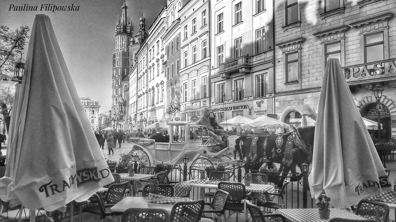 Day Architecture Outdoors City People And Places People Walking  Horses Details City Streets  City History City Photography Black And White Collection  Tables & Chairs Restaurants Backside Architecture Details Architecture_collection Architecture Restaurant Art Poland The Street Photographer - 2017 EyeEm Awards