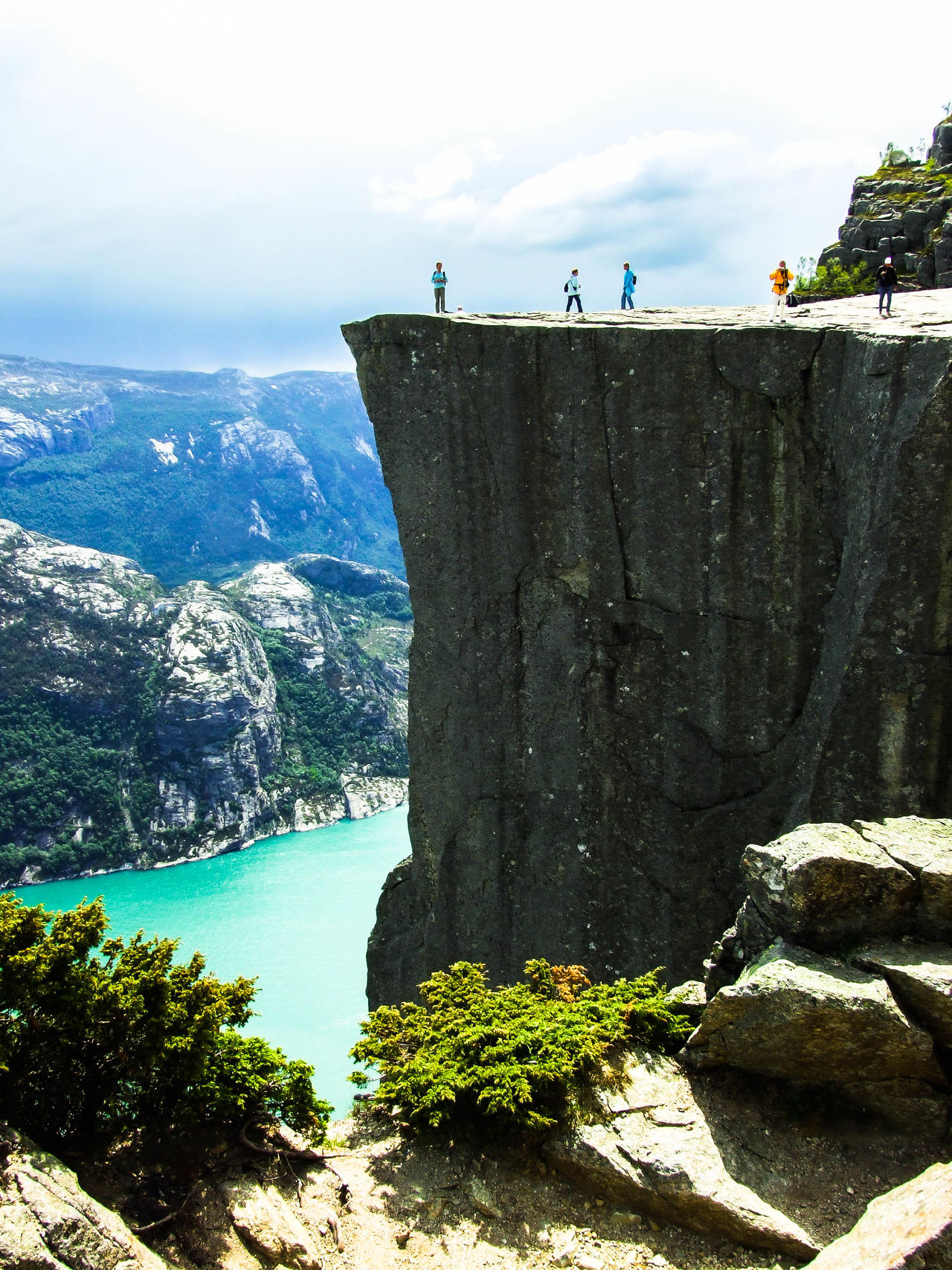 Preikestolen (The Pulpit Rock Beauty In Nature Live For The Story Lysefjord Nature Norway Outdoors Preikestolen Rock - Object The Pulpit Roc