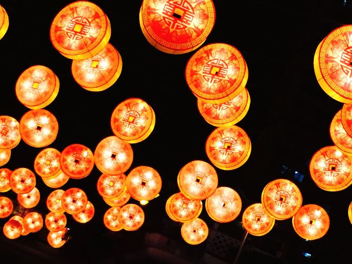 Happy New Year! Chinese New Year Taking Photos