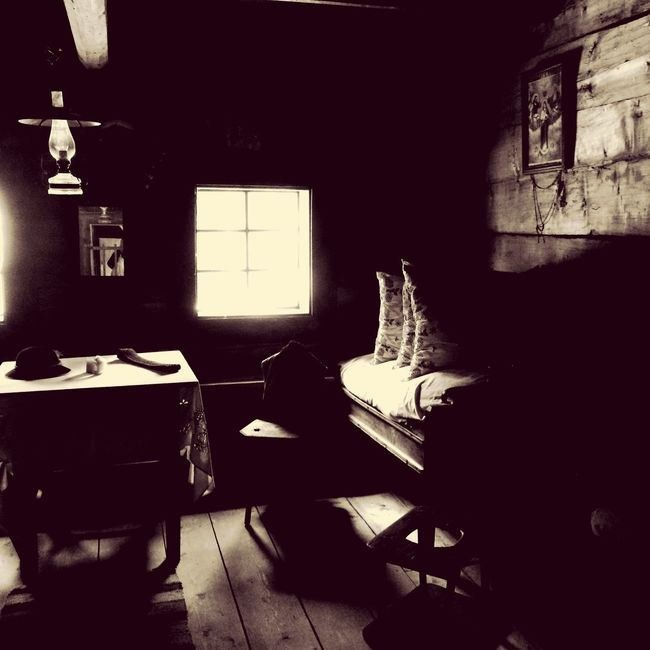 Indoors  Absence Chair Window Empty Flooring Large Group Of Objects Room Messy Dark Loneliness Solitude Discarded