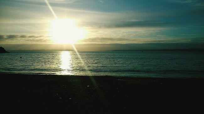 Sea Sun Beautiful Water Reflections
