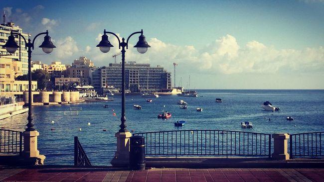 Balutta bay, Malta Malta Sea Mediterranean  Coastroad Summer First Eyeem Photo