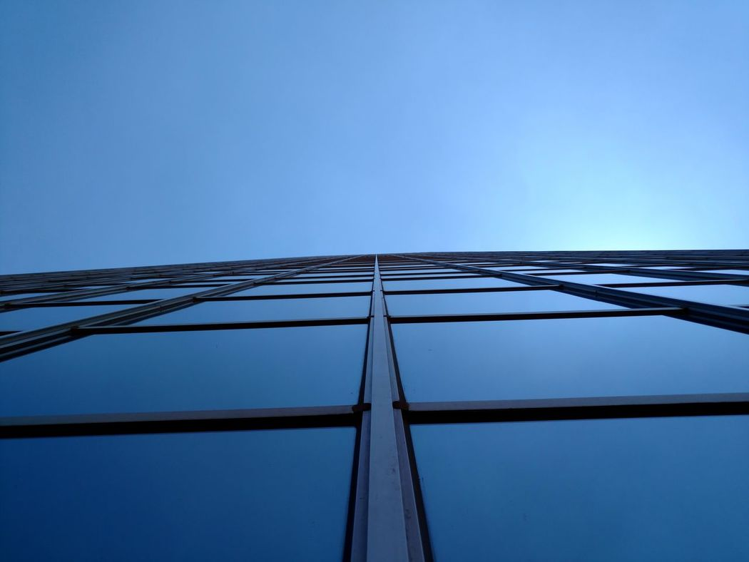Blue Colour Of Life Vertical View Phoenix, AZ The EyeEm Collection Dramatic Angles