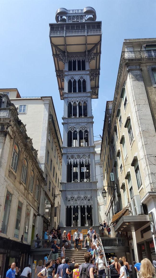 Elevador Lift Monumento Monument Lisboa Lisbon