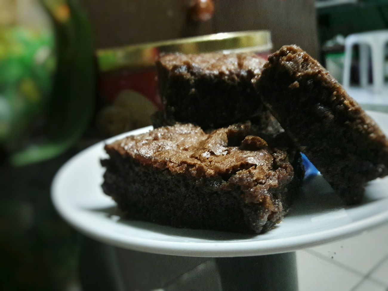 Enjoying Life HomemadeBrownie Sweettooth🍰 Goodfood Eyeemphotography EyeEm Gallery EyeEm Food Photography