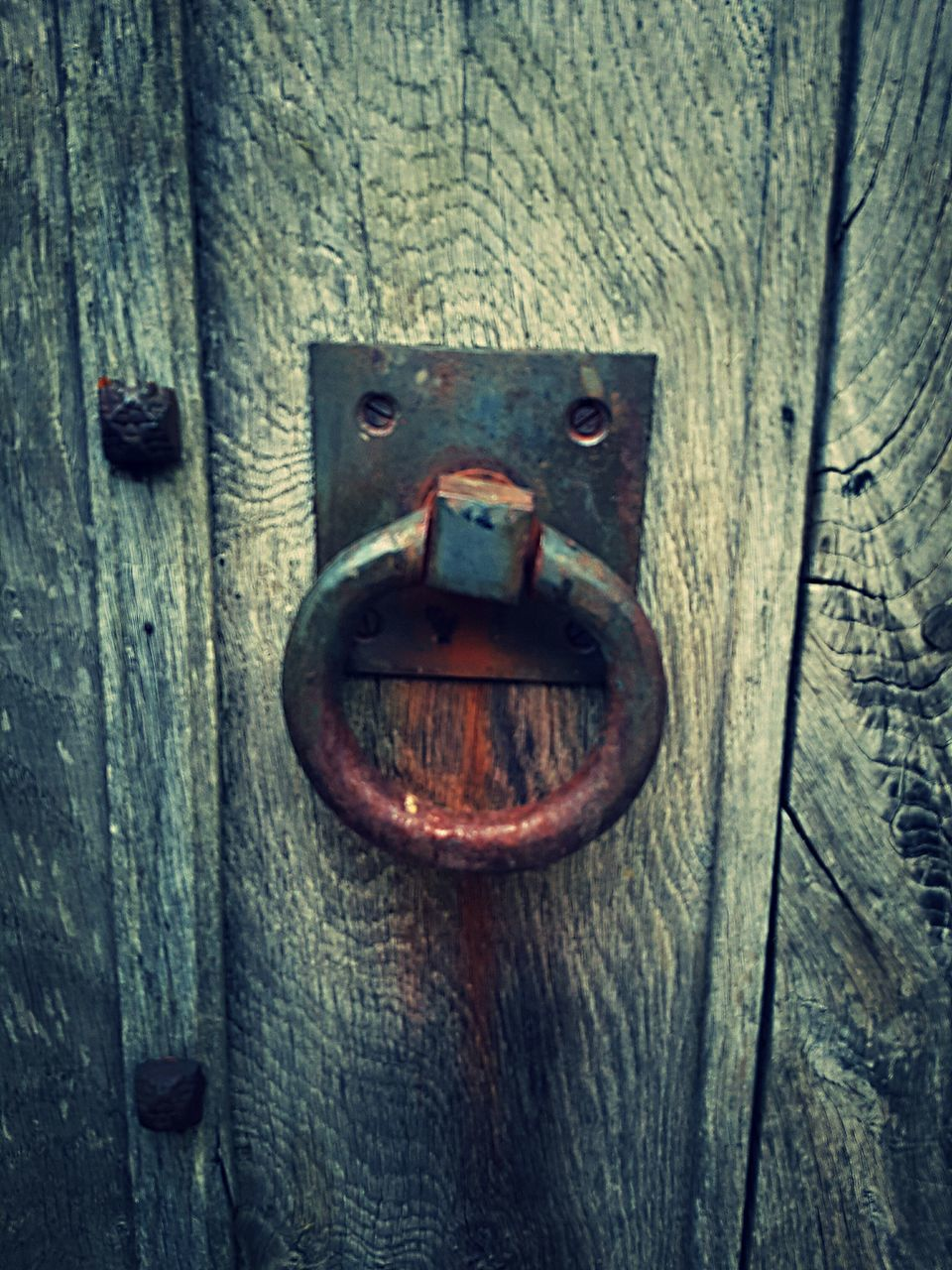 door, wood - material, close-up, metal, no people, outdoors, rusty, protection, weathered, day, textured, latch, backgrounds