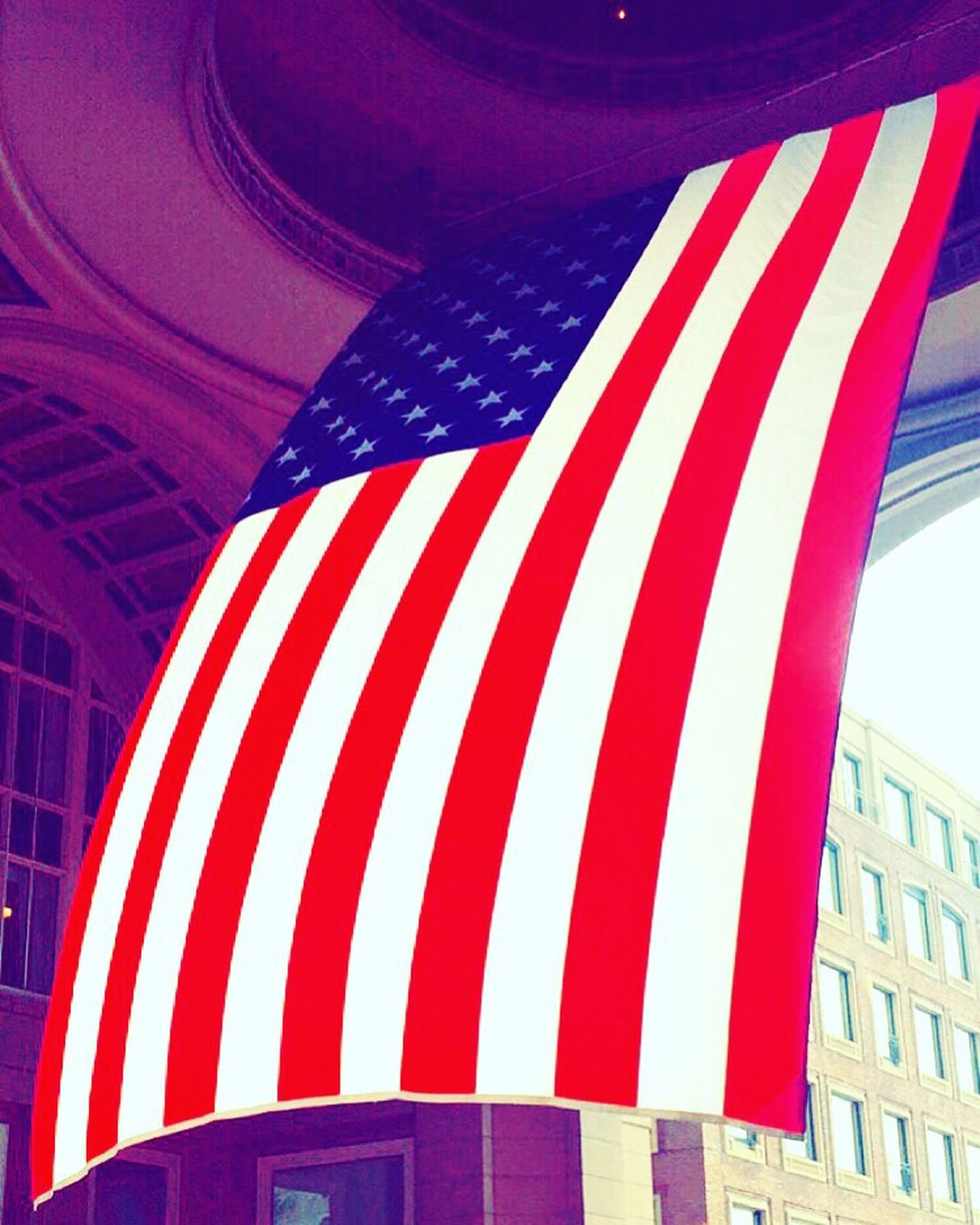 Happy Memorial Day! Check This Out American Flag USA BostonHarbor RowesWharf Waterfront Bostonharborhotel Boston Americanflag Red White & Blue Oldglory Fallenheroes Tribute Salute