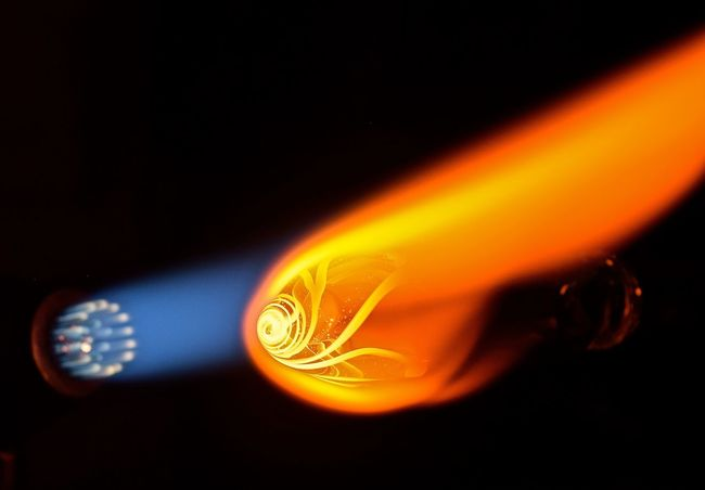 Glass Blowing #glassart #glassblowing Art Concentration Creativity Creativity Has No Limits Flames Girl Power Glass Artist Glass Artistry Glass Artwork Glass Blowing Hand Made Handmade Heat Skill  The Innovator 43 Golden Moments Showcase June Color Palette Your Design Story Winners 🎁 TakeoverContrast Maximum Closeness Handmade For You