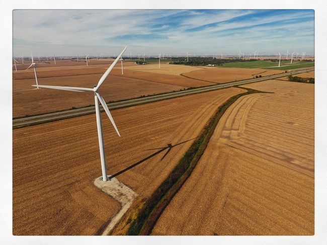 Windfarm Aerial Photography Aerial Shot Aerial View Agriculture Agriculture America Day Drone  Dronephotography Droneshot Energy Farm Farm Life Farming Farmland Landscape MidWest Nature No People Outdoors Sand Sky Wind Windfarm Windmill