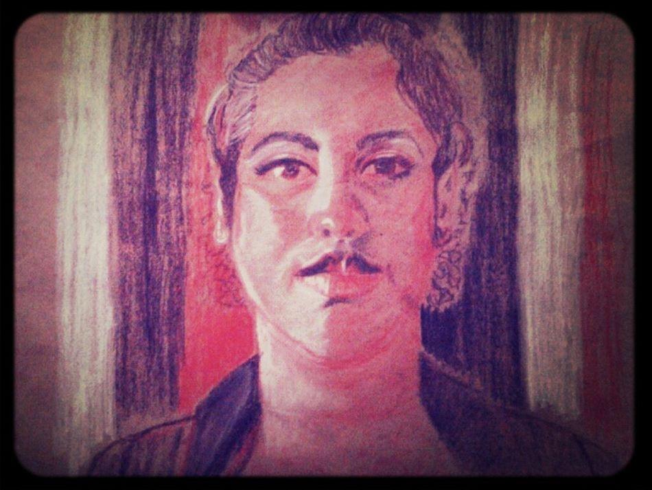 Mi primer autoretrato... me encanta ... :)