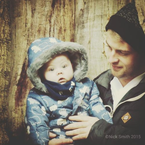 my son and grandson First Eyeem Photo