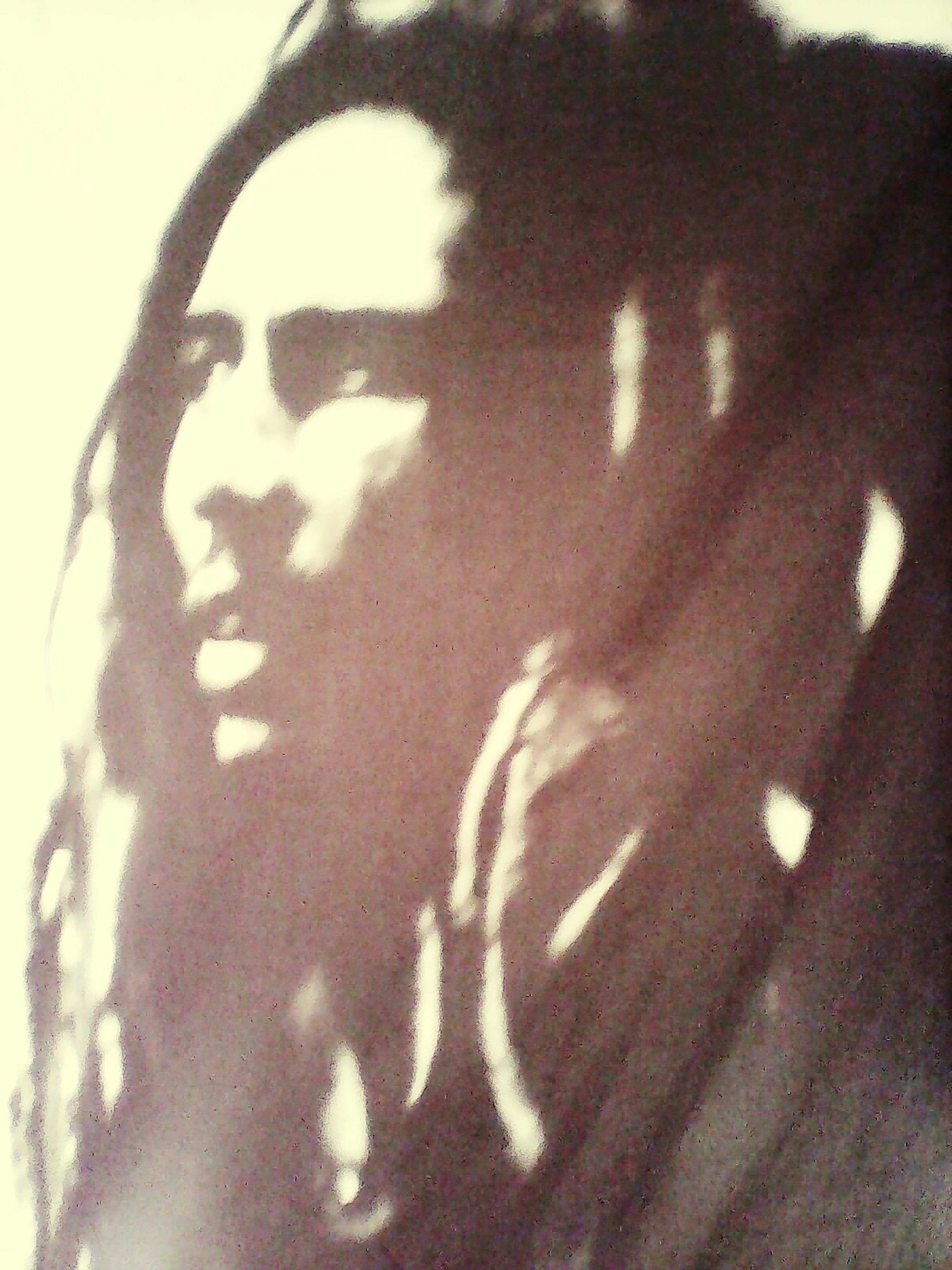 I&I Chillin Out At Home Taking Photos Love Bob Marley Flags One Love Rastafari