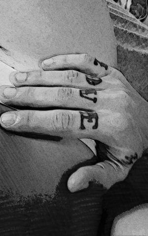 Love Love Tattoo Tattoo Boyfriendgirlfriend One Heart One Love Human Body Part Hand Black And White EyeEm Gallery Eyemphotos Eyem Collection The Week On EyeEm EyEmNewHere