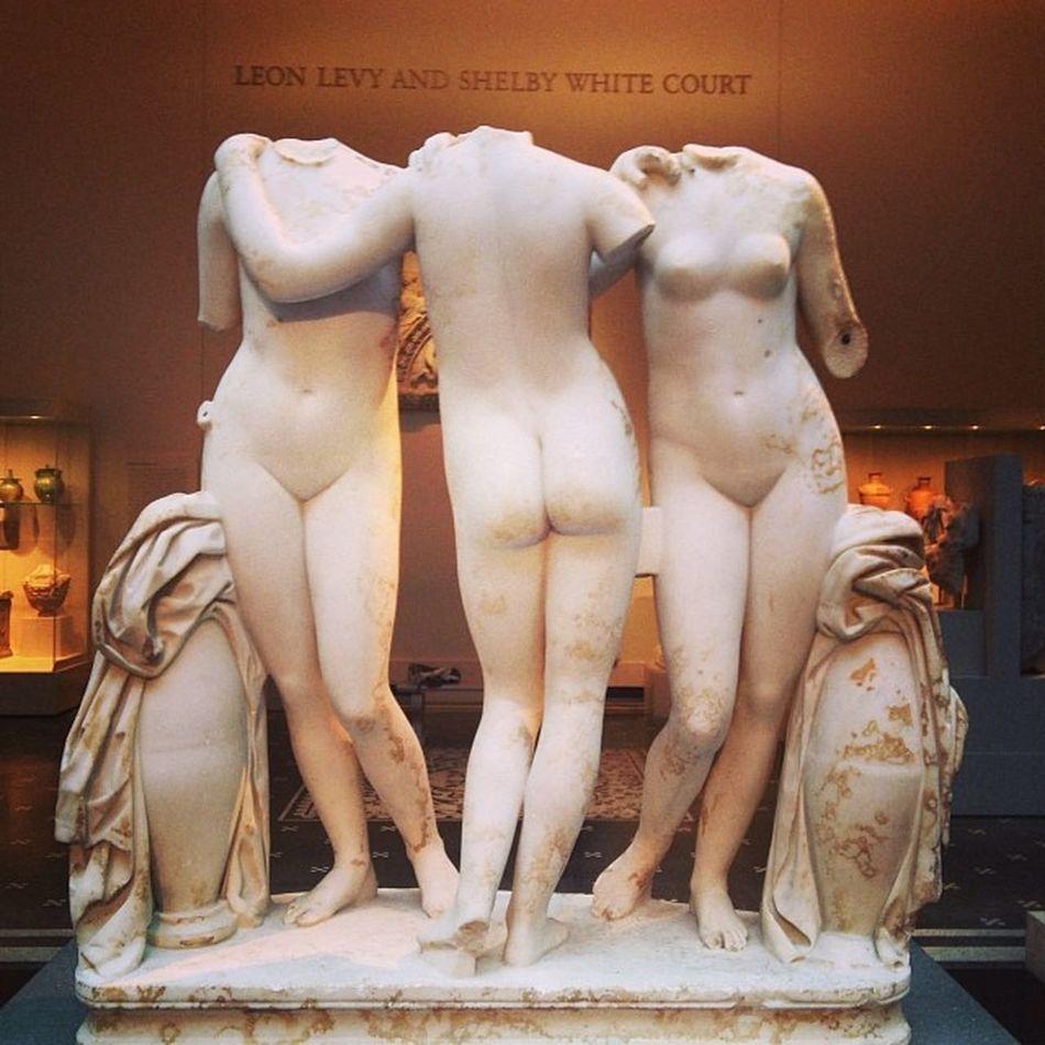 The Three Graces. Symbolized Fertility & Growth , Arts , & Harmony between man. Ancientrome 2000YearsOld 2ndCenturyCE Sculpture Art Marble Idealistic Themet Themetropolitanmuseumofart @metmuseum