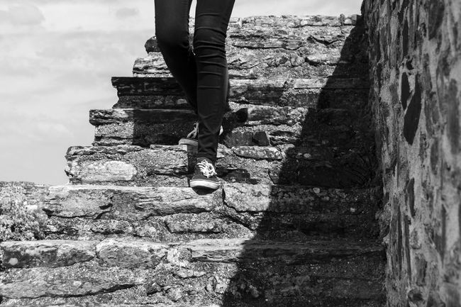 Abrantes Hanging Out Taking Photos Enjoying Life Stairs Blackandwhite Light And Shadow Black And White Ligth Black & White